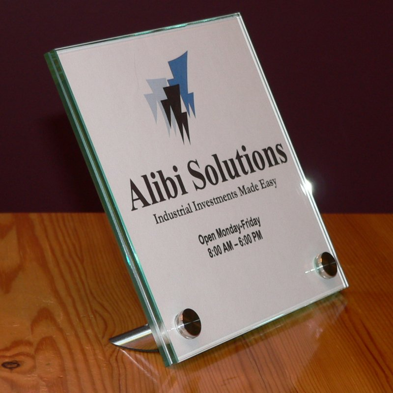 Surprising Designer Glass Signs Our Products Tabletop Signs Download Free Architecture Designs Scobabritishbridgeorg
