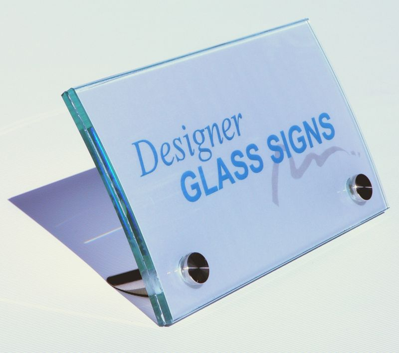 Fantastic Designer Glass Signs Our Products Tabletop Signs Download Free Architecture Designs Scobabritishbridgeorg